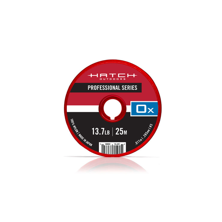 [NEW] Professional Series Nylon Tippet, 0x-7x, 25M