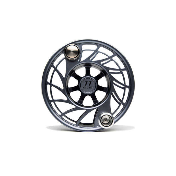 gunmetal grey 11 plus extra spool with mid arbor and black paint