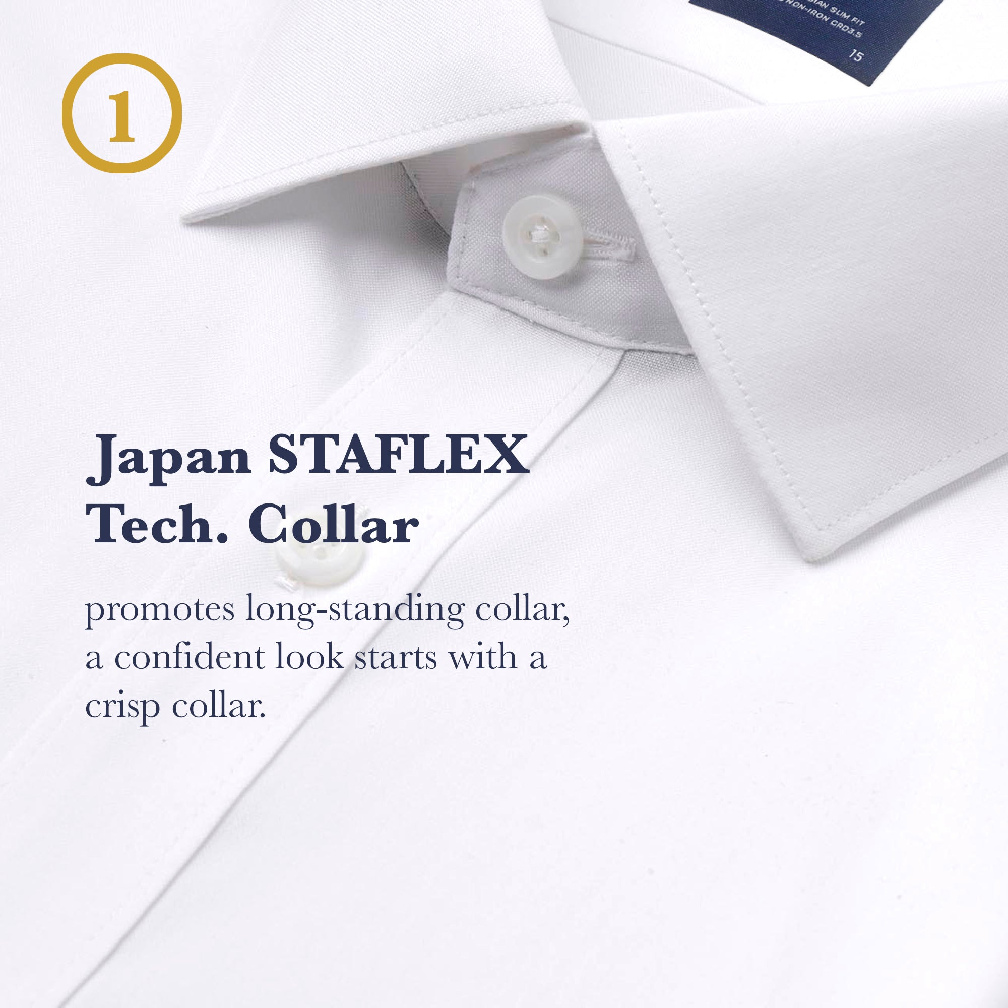 Slim Fit | Expression Collar
