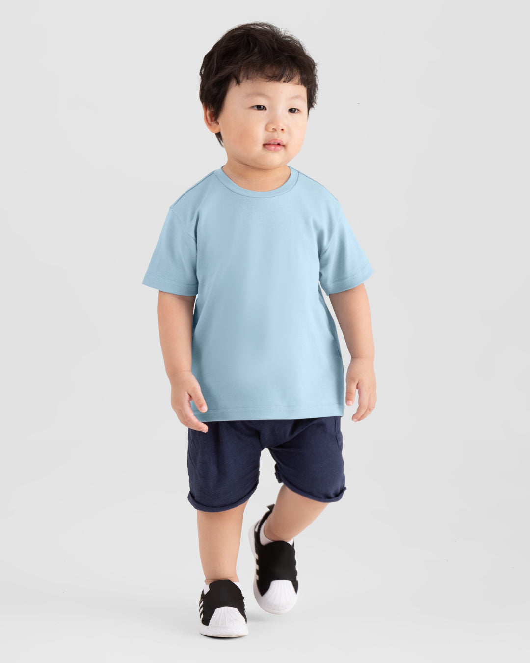 Kids Premium Weight Cotton Crew Neck Tee