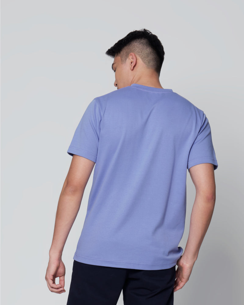 Men Cotton Crew Neck Short Sleeve T-Shirt