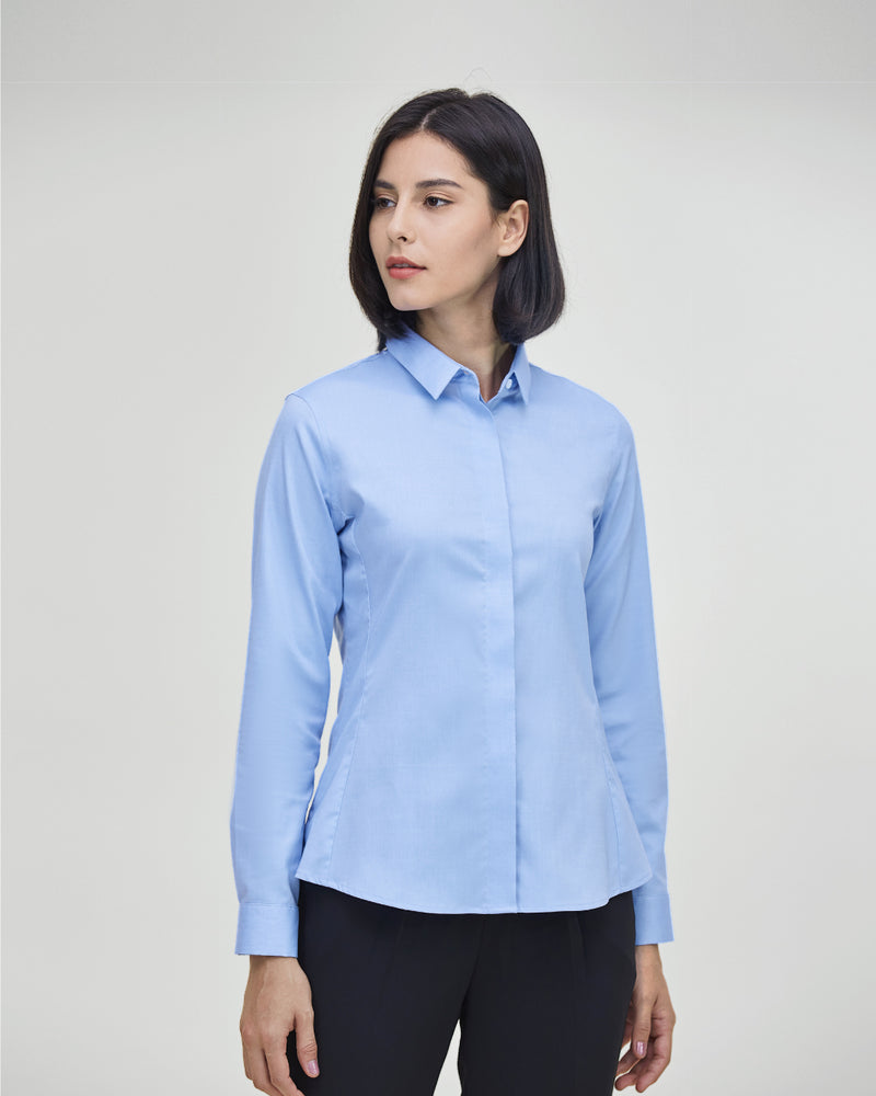 Women Supima Slim Fit Shirt