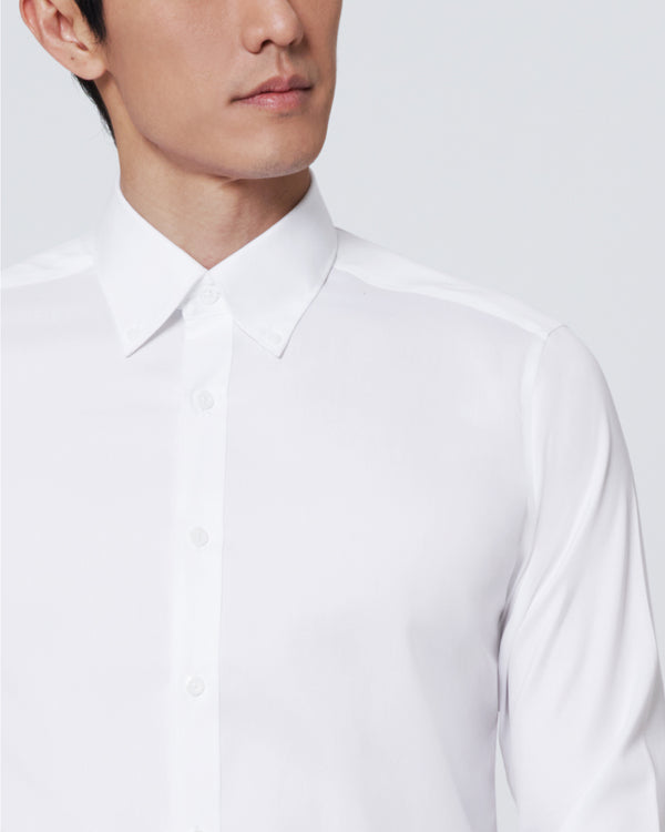 Men Supima Slim Fit Button Down Collar