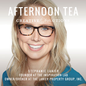 Afternoon Tea with Stephanie Lanier