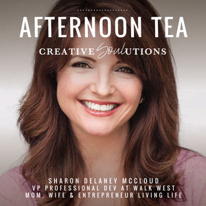 Afternoon Tea with Sharon Delaney McCloud