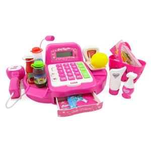12 Cash Register Toy Playset for Kids