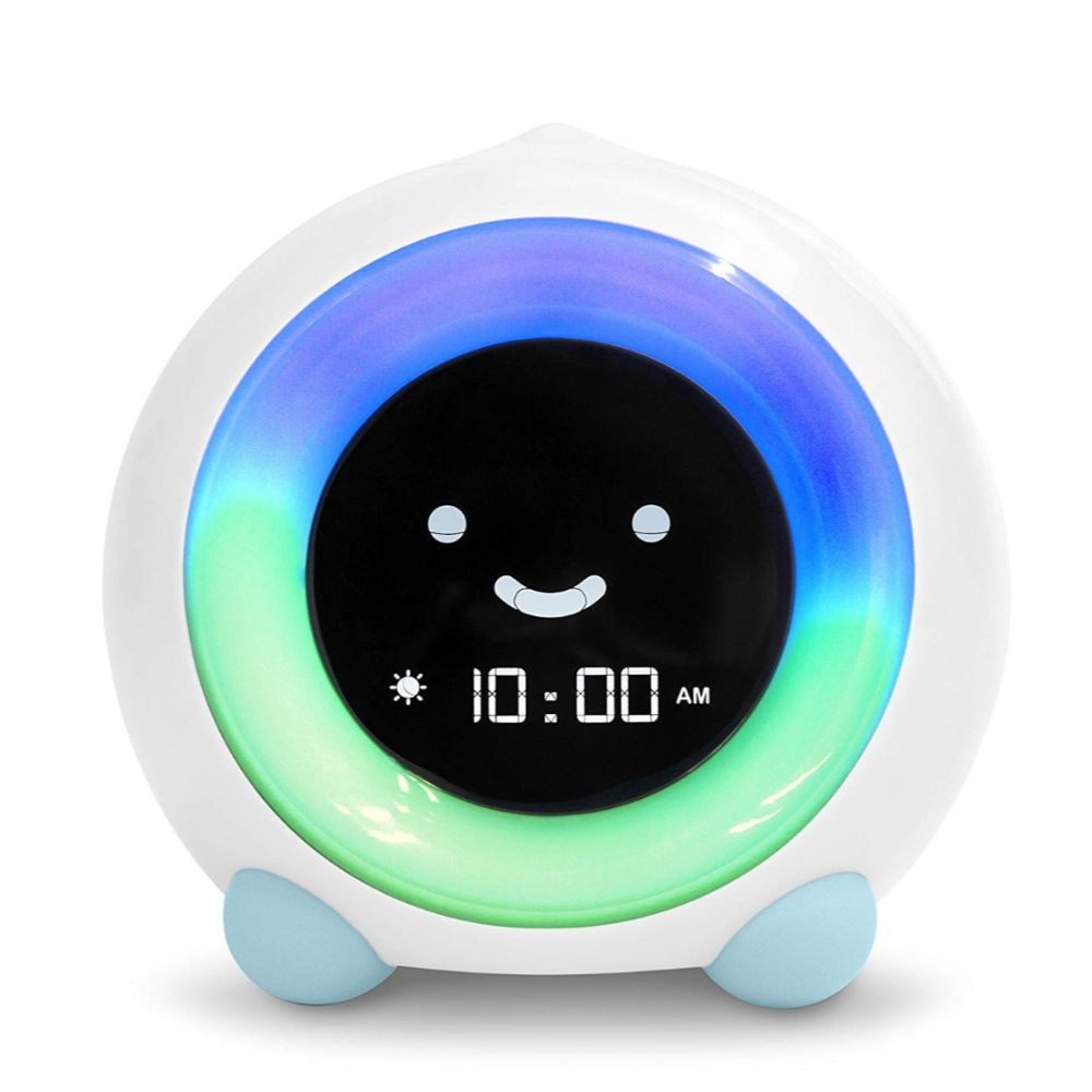 LittleHippo Mella Ready to Rise Children's Trainer, Alarm Clock, Night Light Sleep Sounds Machine