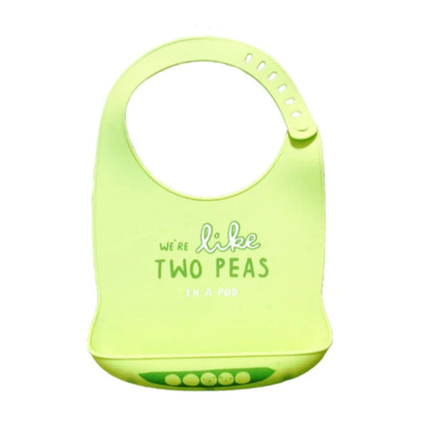 Image of Waterproof Silicone Baby Bib