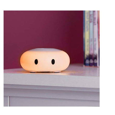 Image of LittleHippo Kelvin Color Changing Nursery Night Light with Customizable Room Thermometer and Hygrometer