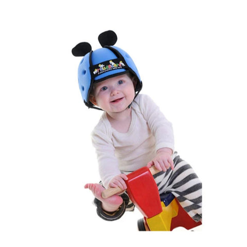 Image of Thudguard® Infant Protective Safety Hat - Blue