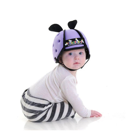 Image of Thudguard® Infant Protective Safety Hat - Lilac