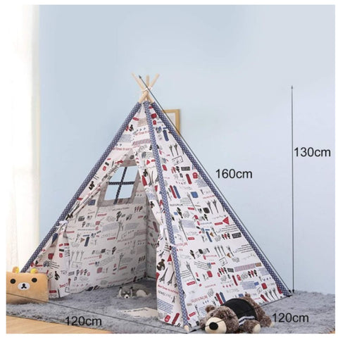 Image of Kids Teepee Tent