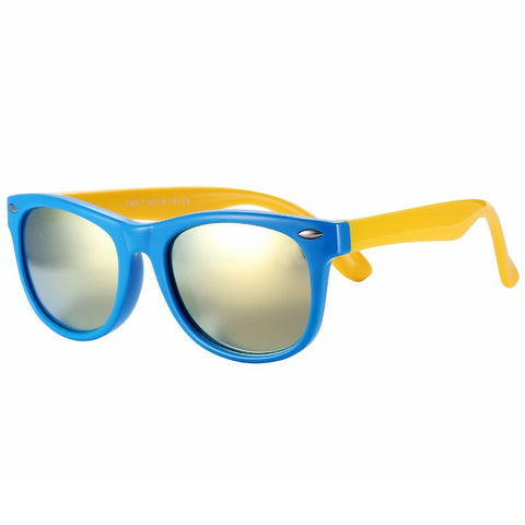 Image of Rubber Flexible Kids Polarized Sunglasses