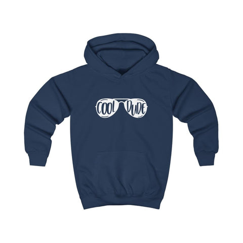 Cool Dude Kids Hoodie - Oxford Navy / XS - Kids clothes