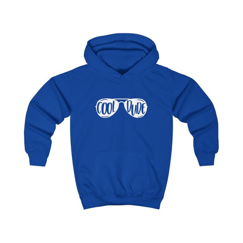 Image of Cool Dude Kids Hoodie - Royal Blue / XS - Kids clothes