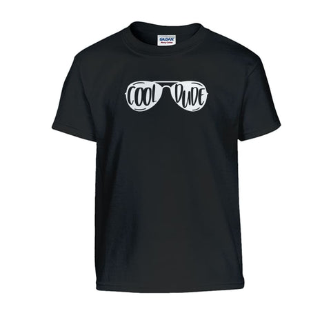 Cool Dude Kids Tee - Black / S - Kids