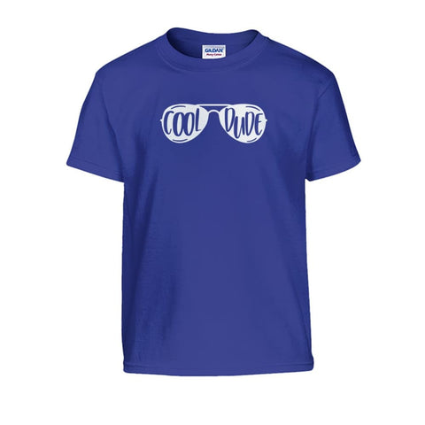 Cool Dude Kids Tee - Cobalt / S - Kids