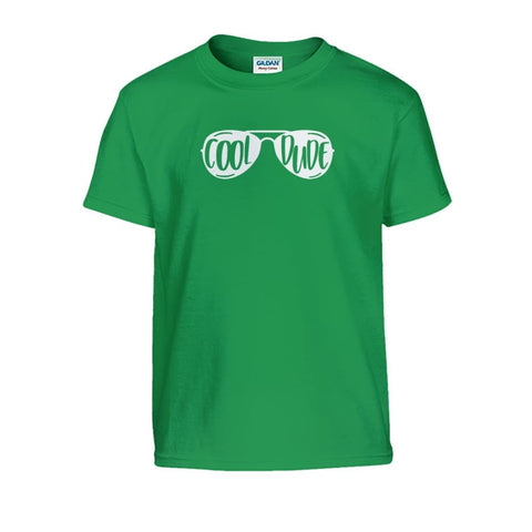 Cool Dude Kids Tee - Irish Green / S - Kids