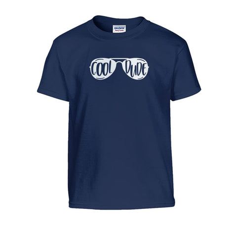 Cool Dude Kids Tee - Navy / S - Kids