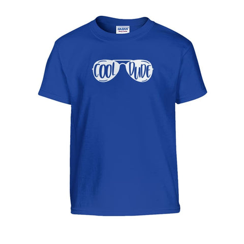 Cool Dude Kids Tee - Royal / S - Kids