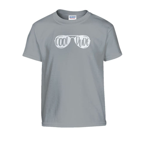 Cool Dude Kids Tee - Sport Grey / S - Kids
