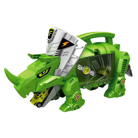 Dinosaur Storage Carrier Includes Dinosaur and Cars