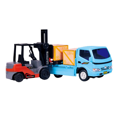 Forklift & Truck Play Set
