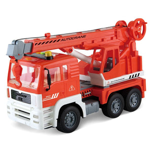 Friction Powered Construction Crane Truck Toy