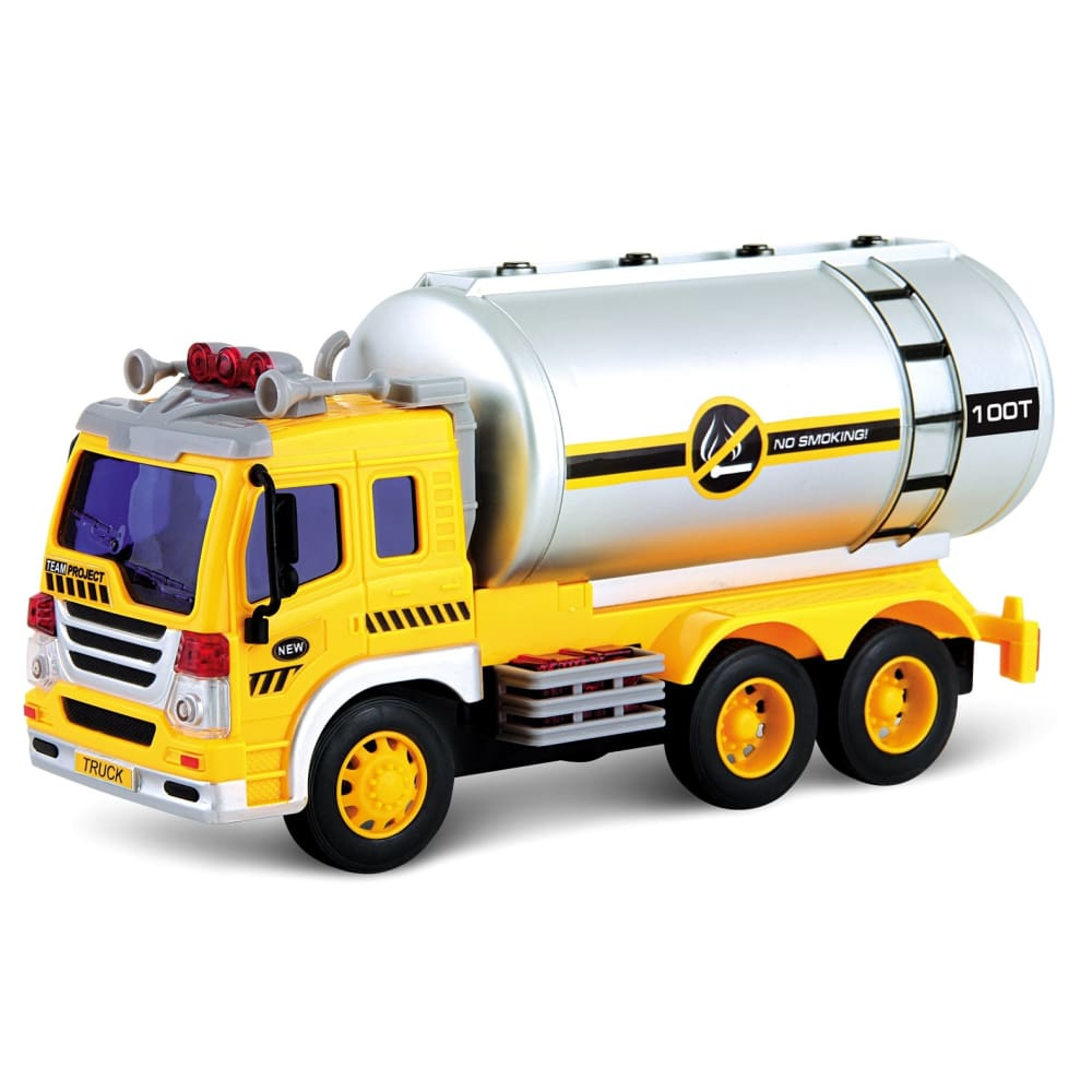 Friction Powered Oil Tanker Truck Toy