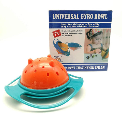 Gyro Bowl Anti Spill