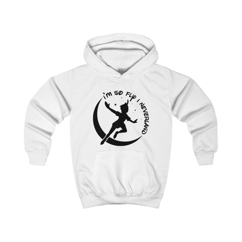 Image of Im So Fly Kids Hoodie - Arctic White / XS - Kids clothes