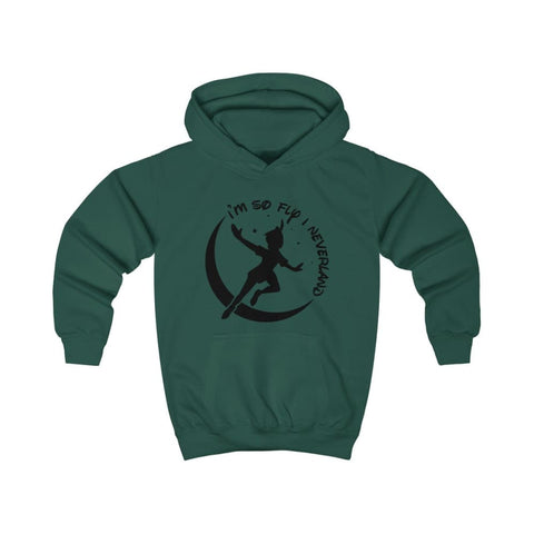 Image of Im So Fly Kids Hoodie - Bottle Green / XS - Kids clothes