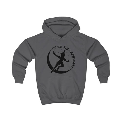 Image of Im So Fly Kids Hoodie - Charcoal / XS - Kids clothes