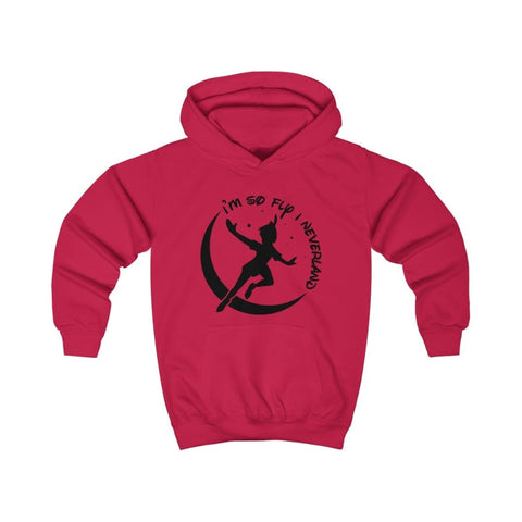 Image of Im So Fly Kids Hoodie - Fire Red / XS - Kids clothes