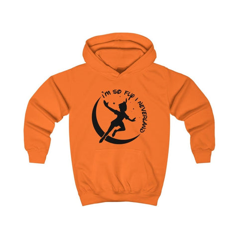 Image of Im So Fly Kids Hoodie - Orange Crush / XS - Kids clothes