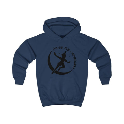 Image of Im So Fly Kids Hoodie - Oxford Navy / XS - Kids clothes