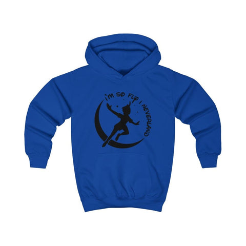 Image of Im So Fly Kids Hoodie - Royal Blue / XS - Kids clothes