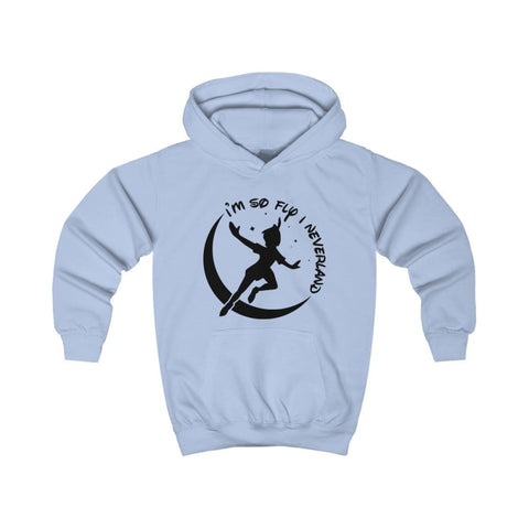 Image of Im So Fly Kids Hoodie - Sky Blue / XS - Kids clothes