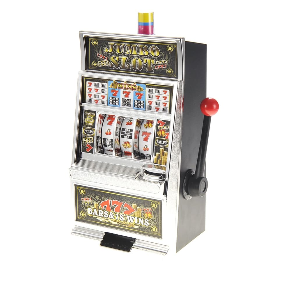 Jumbo Slot Machine Money Bank