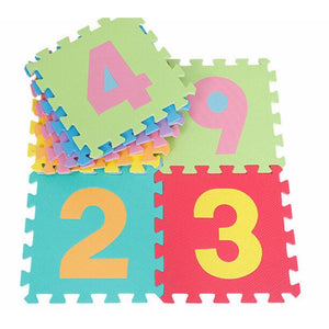 Kids Alphabet And Number Puzzle Play Mat