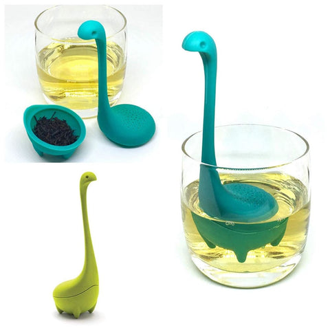 Image of Lake Monster Silicone Tea Stainer 2pck