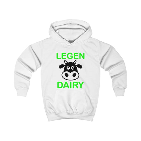 Image of Legen Dairy Kids Hoodie - Arctic White / XS - Kids clothes