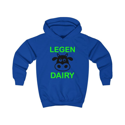 Image of Legen Dairy Kids Hoodie - Royal Blue / XS - Kids clothes
