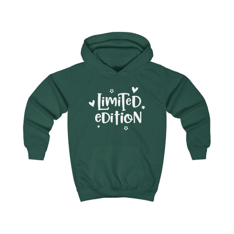 Limited Edition Kids Hoodie - Bottle Green / XS - Kids clothes