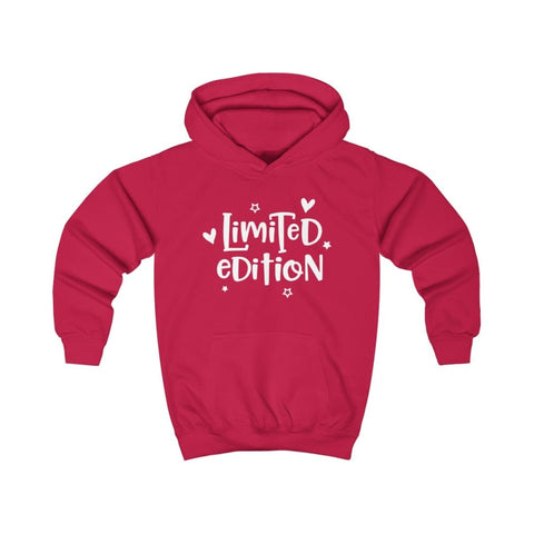 Limited Edition Kids Hoodie - Fire Red / XS - Kids clothes