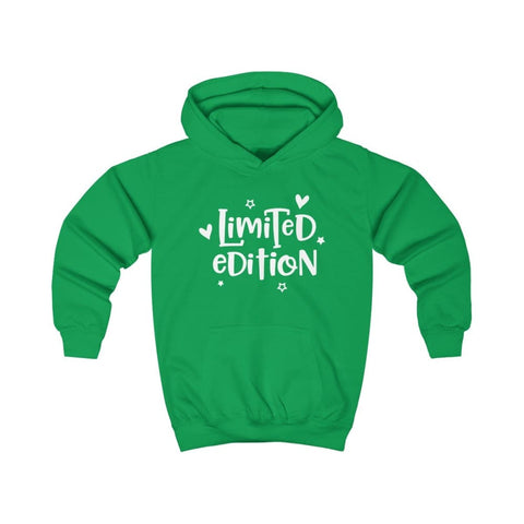 Limited Edition Kids Hoodie - Kelly Green / XS - Kids clothes
