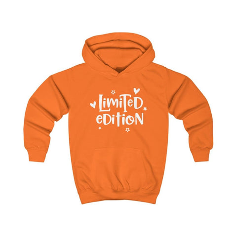 Limited Edition Kids Hoodie - Orange Crush / XS - Kids clothes