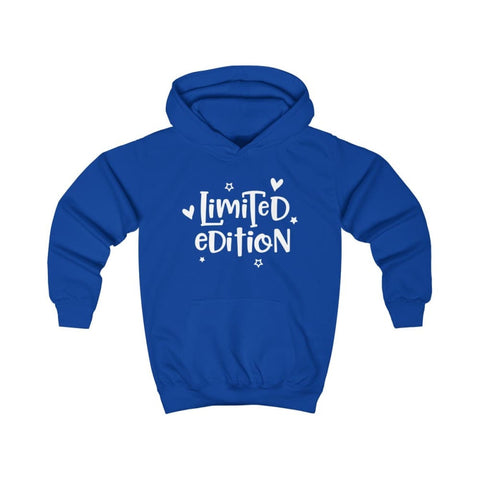 Limited Edition Kids Hoodie - Royal Blue / XS - Kids clothes
