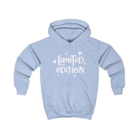 Limited Edition Kids Hoodie - Sky Blue / XS - Kids clothes