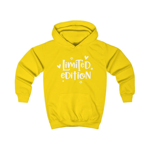Limited Edition Kids Hoodie - Sun Yellow / XS - Kids clothes
